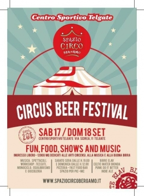 17/18 SETTEMBRE - CIRCUS BEER FESTIVAL - GSMP